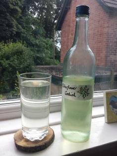 Elderflower cordial & lemonade