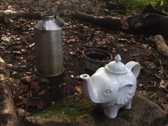 Kelly kettle chai tea